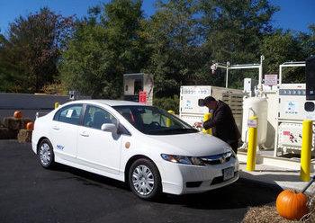 Meriden Natural Gas Station & Vehicles